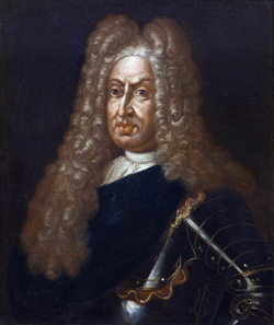 Porträt Großherzog Gian Gastone de' Medici. © Claudio Giusti.