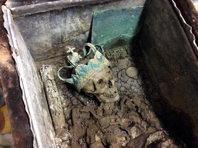 Exhumierung Anna Maria Luisa. © Wilfried Rosendahl, rem.