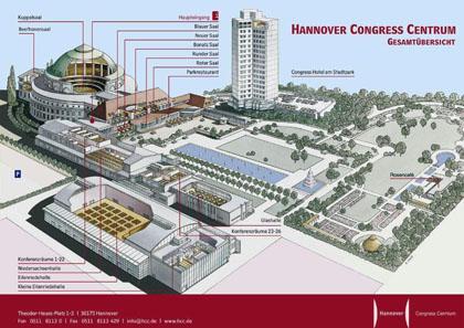 Der Übersichtsplan der Münzenbörse Hannover. Photo © HCC.