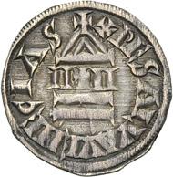 Venedig. Denar, 9. Jh., vielleicht 829-836(?). Aus der kommenden Auktion Künker, Sammlung Edoardo Curti (März 2013), Nr. 2240. Schätzung: 12.500 Euro.