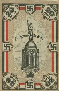 1856: HONNEF AM RHEIN, Rheinischer Gautag, Ostermond 1922, Notgeldserie von 8x 25 Pfg, 6x 50 Pfg, 6x 75 Pfg, 12x 1 Mark, 6x 2 Mark, 5, 10, 20 Mark, in dieser Zusammenstellung sehr selten, Mehl 626.1, EH II+ oder besser. Zuschlag: 2.400 Euro, Ausruf: 1.200 Euro.