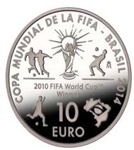 Spain / 10 euros / .925 silver / 40mm / 27g / Mintage: 10,000.