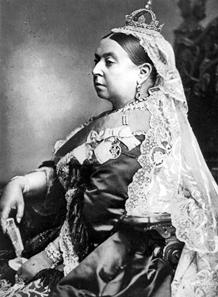 Queen Victoria on her Golden Jubilee 1887. Source: Wikipedia.