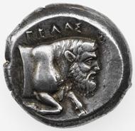 Greece / Sicily. GELA. Tetradrachm. © Swiss National Museum Inv. ZB-G226.