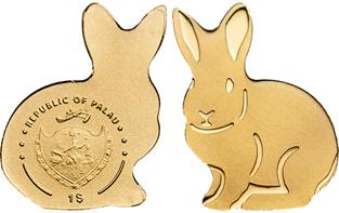 Palau / 1 US-Dollar / Gold .9999 / 0.5 g / 11 mm / Mintage: 15,000.