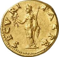 Lot 579A. Roman Imperial Times. OTHO, 69. Aureus. RIC 7. Rare. Good extremely fine. Estimate: 50,000 euros. End result: 80,500 euros.