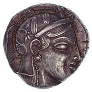 Athens (Greece), tetradrachm, silver (17.2 g), ca. 455 BC