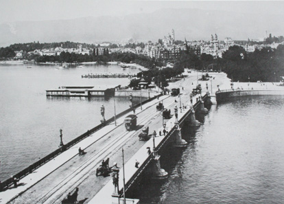 Quaibrücke um 1890. Quelle: Wikipedia.