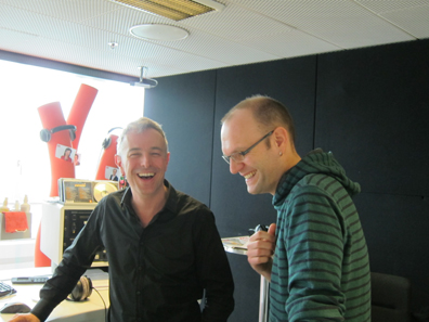 Dani Fohrler und Stefan Wüthrich. Foto: UK.