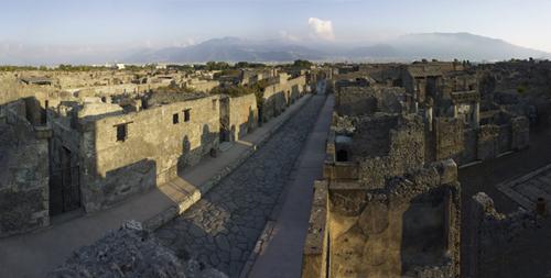 Pompeii, Bay of Naples, Italy, 2012. Copyright Soprintendenza Speciale per i Beni Archeologici di Napoli e Pompei / Trustees of the British Museum.