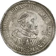6030: Germany. WERDEN and HELMSTEDT. Hugo Preutäus, 1614-1646. Reichsthaler 1636. Dav. 5923. Good very fine. Estimate: 7,500 euros. Hammer price: 42,000 euros.