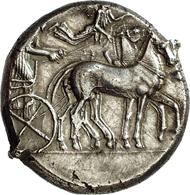 Syracuse (Sicily). Tetradrachm. From NAC auction 13 (1998), 447.