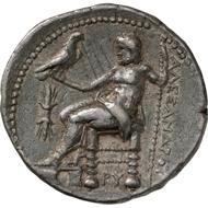 Ptolemy I (Egypt). Tetradrachm. From Bank Leu auction 71 (1997), 243.