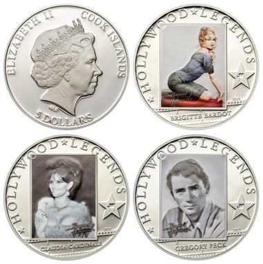 Cook Islands / 5 Ci$ / Silber .925 / 25 g / 38,61 mm / Auflage: 2.500 (je Münze).