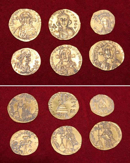 Hoard C (Banevo). Photo: Courtesy of Archaeological Museum of Burgas.