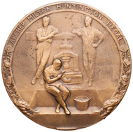 Archer M. Huntington Medal, ANS 2011.31.10.