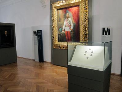 An exhibition on Bolzano economic history. Photo: KW.