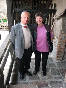 Professor Dr. Dr. Helmut Rizzolli and Ursula Kampmann. Photo: KW.