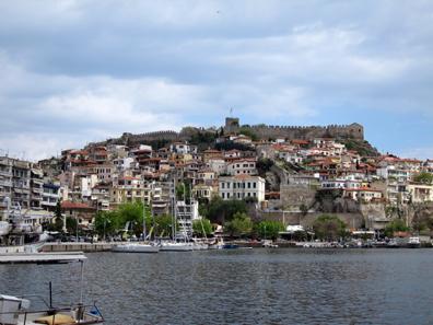 Blick auf Kavala. Foto: KW.