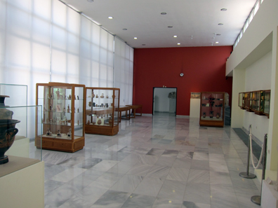 A look at one of the museum halls. Photo: KW.