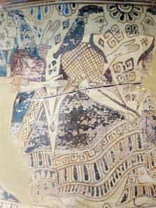 Parian vessel, 650-600 BC. Photo: KW.