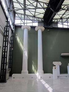 Reste vom Tempel der Athena Parthenos. Foto: KW.