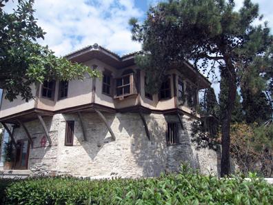 Geburtshaus von Mehmed Ali in Kavala. Foto: KW.