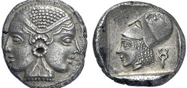 Lampsacus (Mysia). Drachm, ca. 500-450. Gorny & Mosch 211 (2013), 301.