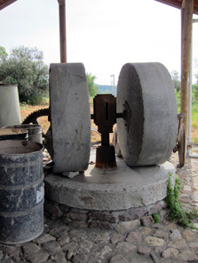 Reconstruction of a mill. Photo: KW.
