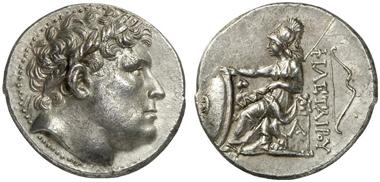 Eumenes I, 263-241. Tetradrachm. Künker 216 (2012), 373.