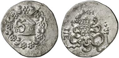 Pergamon. Kistophor, nach 133. Gorny & Mosch 212 (2013), 1729.