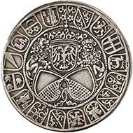 Zürich, Guldiner, Silber (29,6 g), 1512