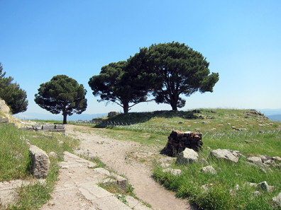 The site of the famous Zeus Altar. Photo: KW.