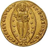Venedig, Pietro Gradenigo, Doge 1289-1311, Ducato in oro, Gold (3,5 g)