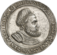 771: Germany. SAXONY. Frederick III the Wise, 1486-1525. Thick guldengroschen n. y. (after 1507) with title of Maximilian I, on becoming States General. Of great scarcity. Extremely fine. Estimate: 15,000 euros.