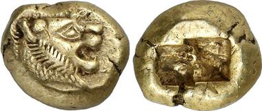 Lydien. Unbestimmter König. Trite. Gorny & Mosch 203 (2012), 236.