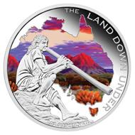 Australia / 1 AUD / 1oz .999 silver / 31.135 g / 40.60 g / Design: Tom Vaughan / Mintage: 5,000.