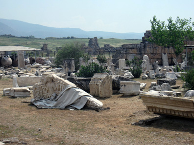 A view of the magazine of the Hierapolis museum. Photo: KW.