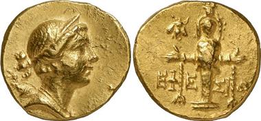 Ephesos. Goldstater 88-86. LHS 103 (2009), 121.