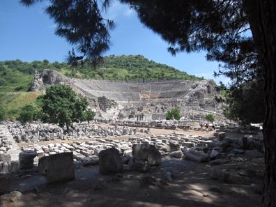 Das Theater von Ephesos. Foto: KW.