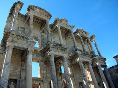 Die Celsus-Bibliothek. Foto: KW.
