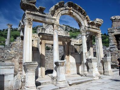 So genannter Hadrianstempel. Foto: KW.