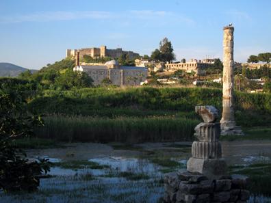 Das Heiligtum der Artemis von Ephesos. Foto: KW.