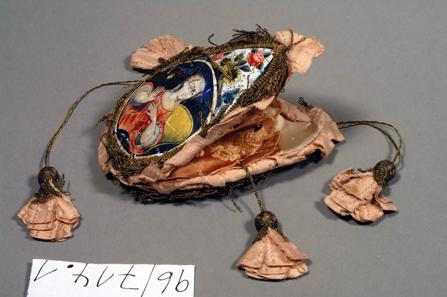 Hochzeitsbörse, Limoges 1724. BN Inv. Nr. 96/714.1.