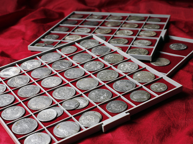40,260 francs* was the result an old and well-maintained collection of coins from the Holy Roman Empire achieved.