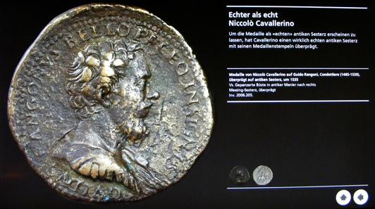 Erläuterungen zu einer Medaille von Niccolò Cavallerino auf den venezianischen Feldherrn Guido Rangoni (1485-1539).