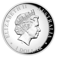 Australia / 1 AUD / 1oz 999 silver / 31.135g / 32.60mm / Design: Natasha Muhl / Mintage: 10,000.