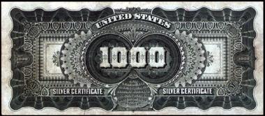1891 $1000.