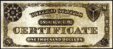 1880 $1000.