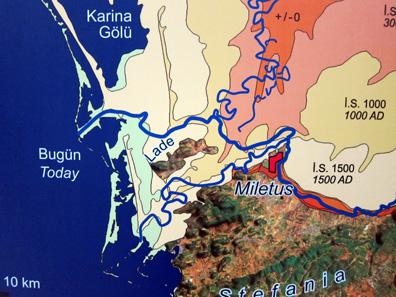 Plan von Milet. Foto: KW.